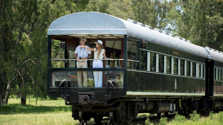 Lüks Tren İle Cape Town Ve Tanzanya