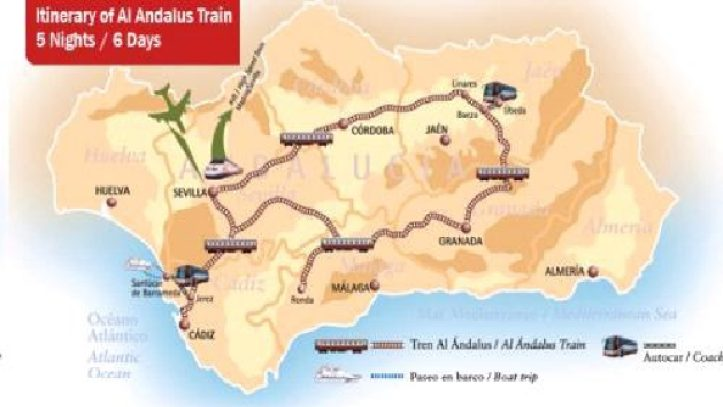 Endülüste Fantastik Tren Turu